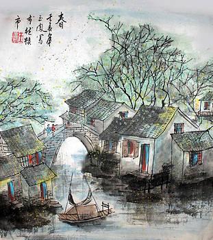 Spring in Watertown by Yufeng Wang
