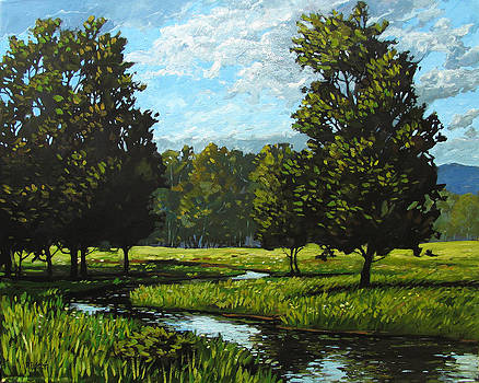 Spring Landscape Near Golden CO by Patty Baker