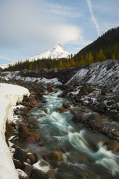 Spring Melt at the White River by Ryan Manuel