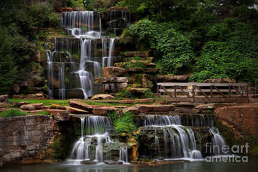 Spring Park Falls by T Lowry Wilson