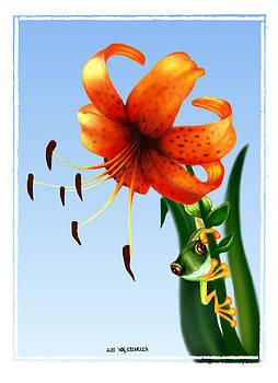 Spring Peeper 2 by Miki Krenelka