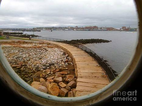 Christine Stack - Spring Point Lighthouse Porthole