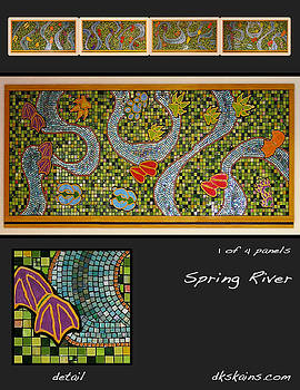 Spring River by Dorinda K Skains