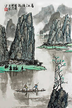 Spring River by Yufeng Wang