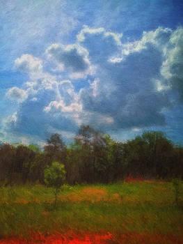 Spring Sky Impressionist by James Corley