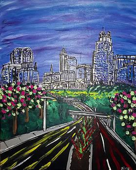 Spring Skyline by Dink Densmore