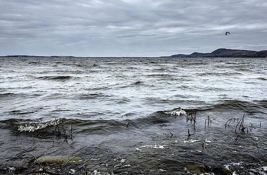 Arkady Kunysz - Spring storm on Lake Champlain