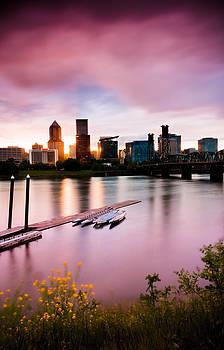 Spring Sunset in Portland by Brian Bonham