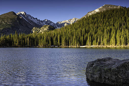 Spring Time At Bear Lake by Tom Wilbert