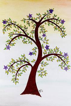 Spring Tree by Patricia Alexander