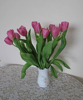 Spring Tulips by Jacqui Kilcoyne