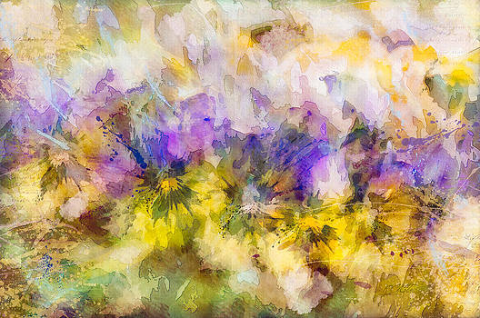 Spring Writes on the Flowers by Joy Gerow