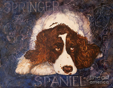 Springer Spaniel - Best Friend by Sher Sester