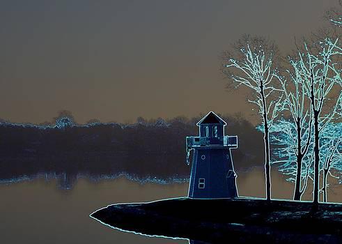 Springfield Lighthouse by J R Seymour
