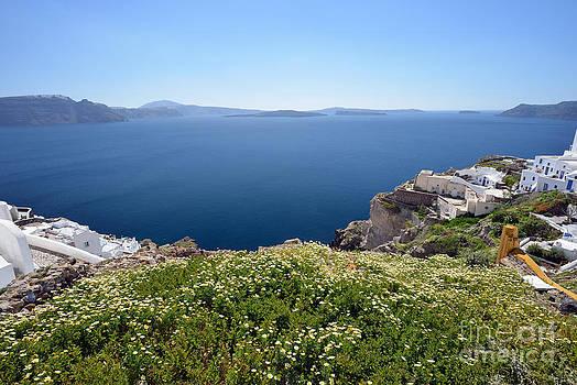 George Atsametakis - Springtime in Santorini island