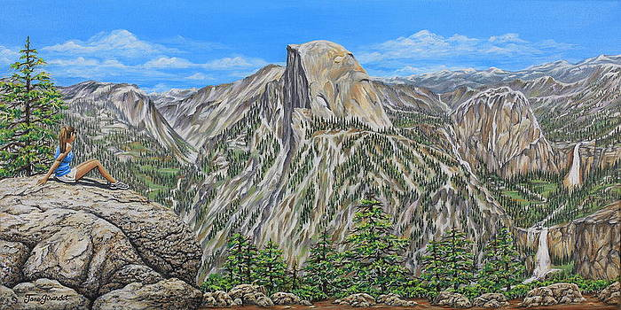 Jane Girardot - Springtime In Yosemite Valley