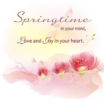 Springtime in your mind by Ioana Ciurariu