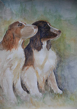 Springtime Springers by Pandyce McCluer