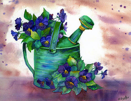 Susan Duxter - Springtime Violets