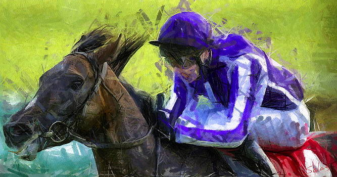 Sprinting Stallion by Francisco Sanchez Salas