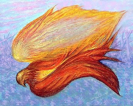 Sprite In Flight by William  Paul Marlette