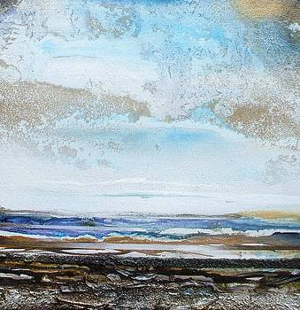 Squalls and showers northumberland Coast no5 by Mike   Bell