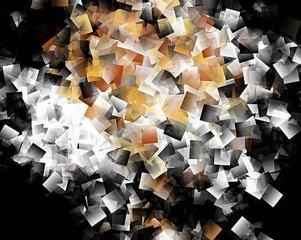 Squares In The Multidimensional Scenery by Krzysztof Spieczonek