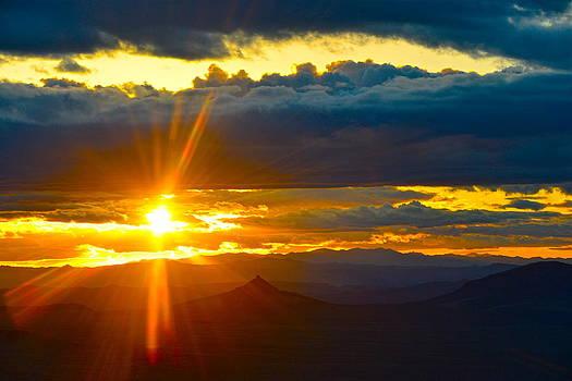 Squaw Peak Sunset by Amanda Miles