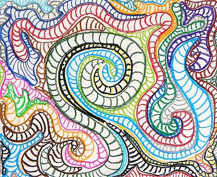 Artists With Autism Inc - Squiggle Snake