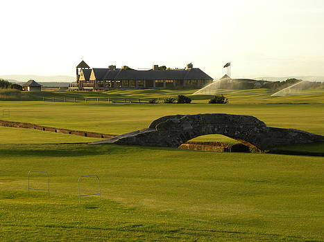 Peggy  McDonald - St Andrews Links golf course