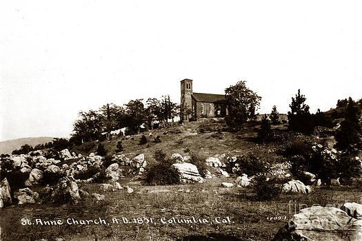 California Views Mr Pat Hathaway Archives - St. Anne Church Columlia Calif. circa 1930