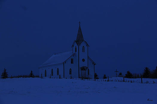St Annes at Night by Andrea Lawrence
