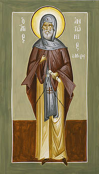 St Anthony by Julia Bridget Hayes