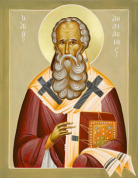 St Athanasios the Great by Julia Bridget Hayes