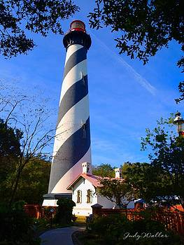 St. Augustine Lighthouse by Judy  Waller