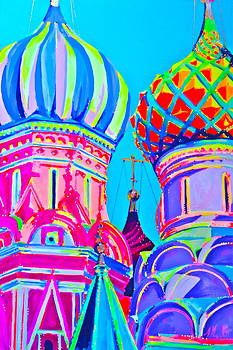St. Basil's Cathedral Moscow by Miss Anna Hall
