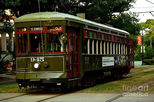St. Charles Streetcar  by Susie Hoffpauir
