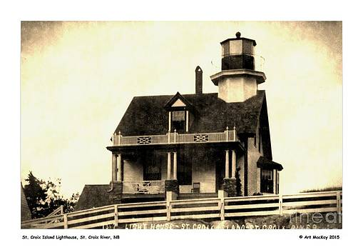 Art  MacKay - St. Croix Island Lighthouse