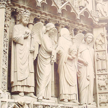 St. Denis of Notre Dame by Janelle Yeager