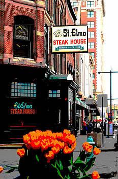 St. Elmo Steak House by Rob Banayote