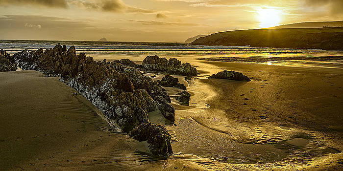 St Finan's Bay Ireland by Tony Steinberg