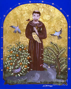 St. Francis and the Wolf by Sue Betanzos