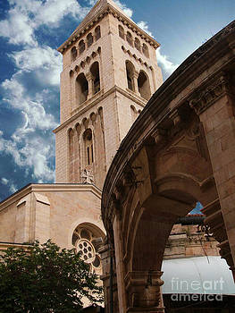 St. George's Cathedral Jerusalem by Brian Joseph