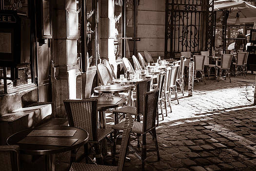 St Germain Cafe by Joseph Walsh