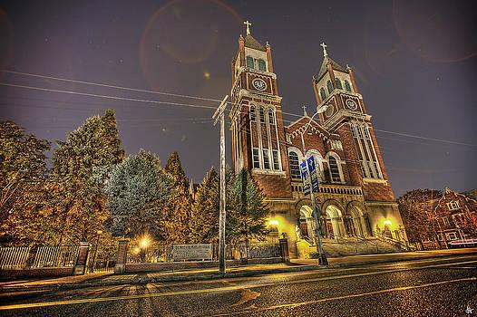 St Hedwig Church Detroit MI by A And N Art