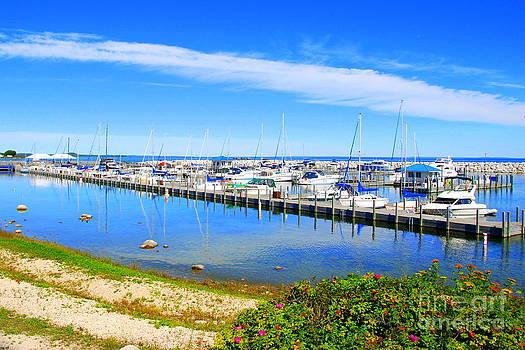 St. Ignace Harbor by Christy Phillips