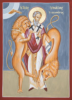 St Ignatius of Antioch by Julia Bridget Hayes