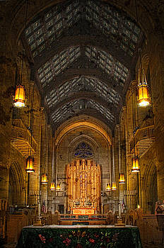 St. Johns Cathedral Alter  by Dan Quam