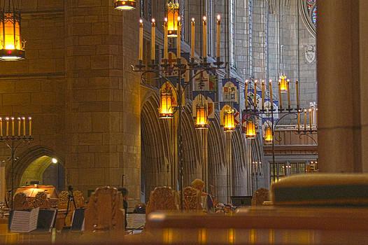 St. Johns Cathedral sanctuary  by Dan Quam
