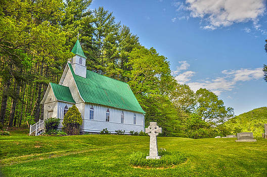 St. Johns Episcopal Church by Donnie Smith